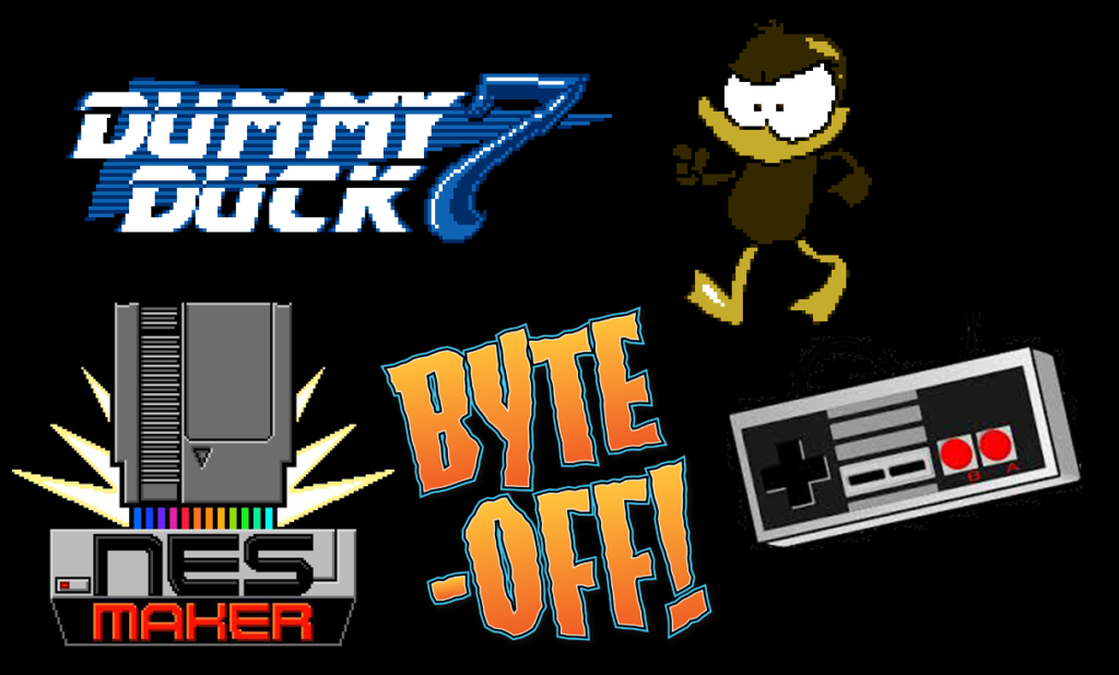 Dummy Duck 7 NESMaker Byte Off